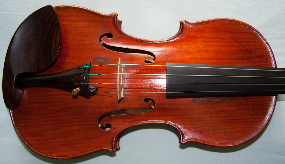 Antique Italian violin labelled Bianchini, Secondo 1948 Cremona