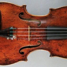 Quality old antique 18th century Italian violin Carlo Antonio Testore 1741
