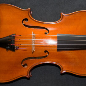 Excellent antique French violin, Pierre Hel 1927