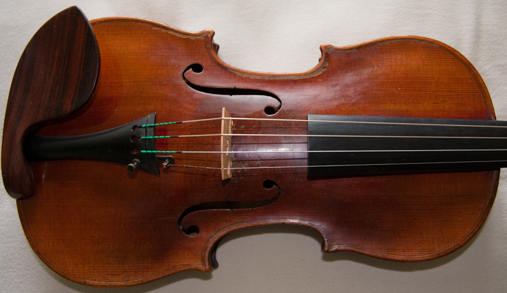 Old antique Hopf German violin CF Hopf ca.1870-80