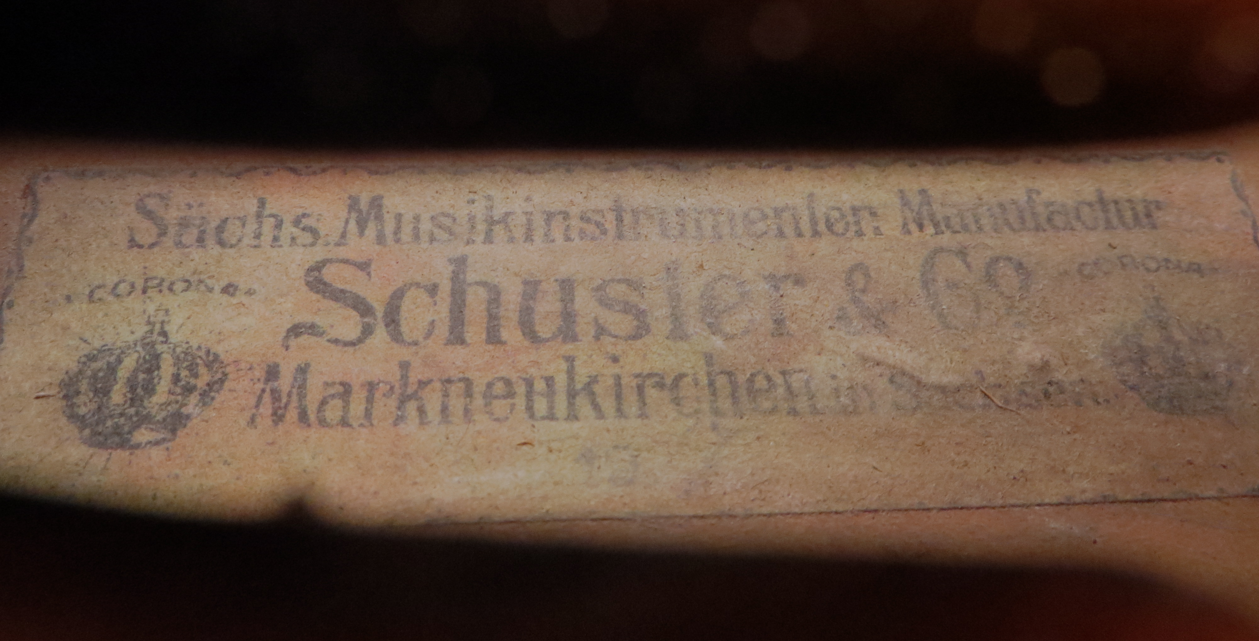 Vintage Maggini model ca.1890 violin
