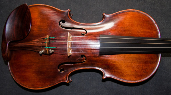 Antique German violin from workshop of Friedrich August Glass 1830-60