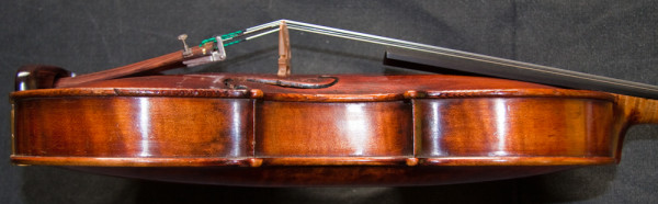 Old German violin from workshop of Friedrich August Glass 1830-60