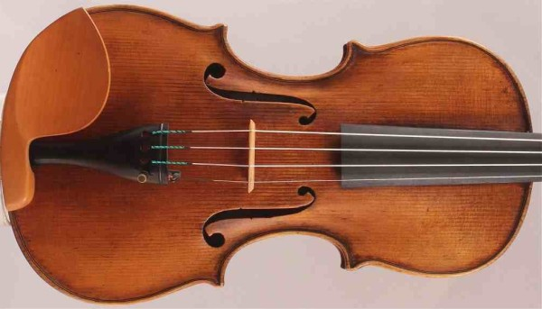 Beautiful old antique Italian violin labelled Emilio Celani 1807