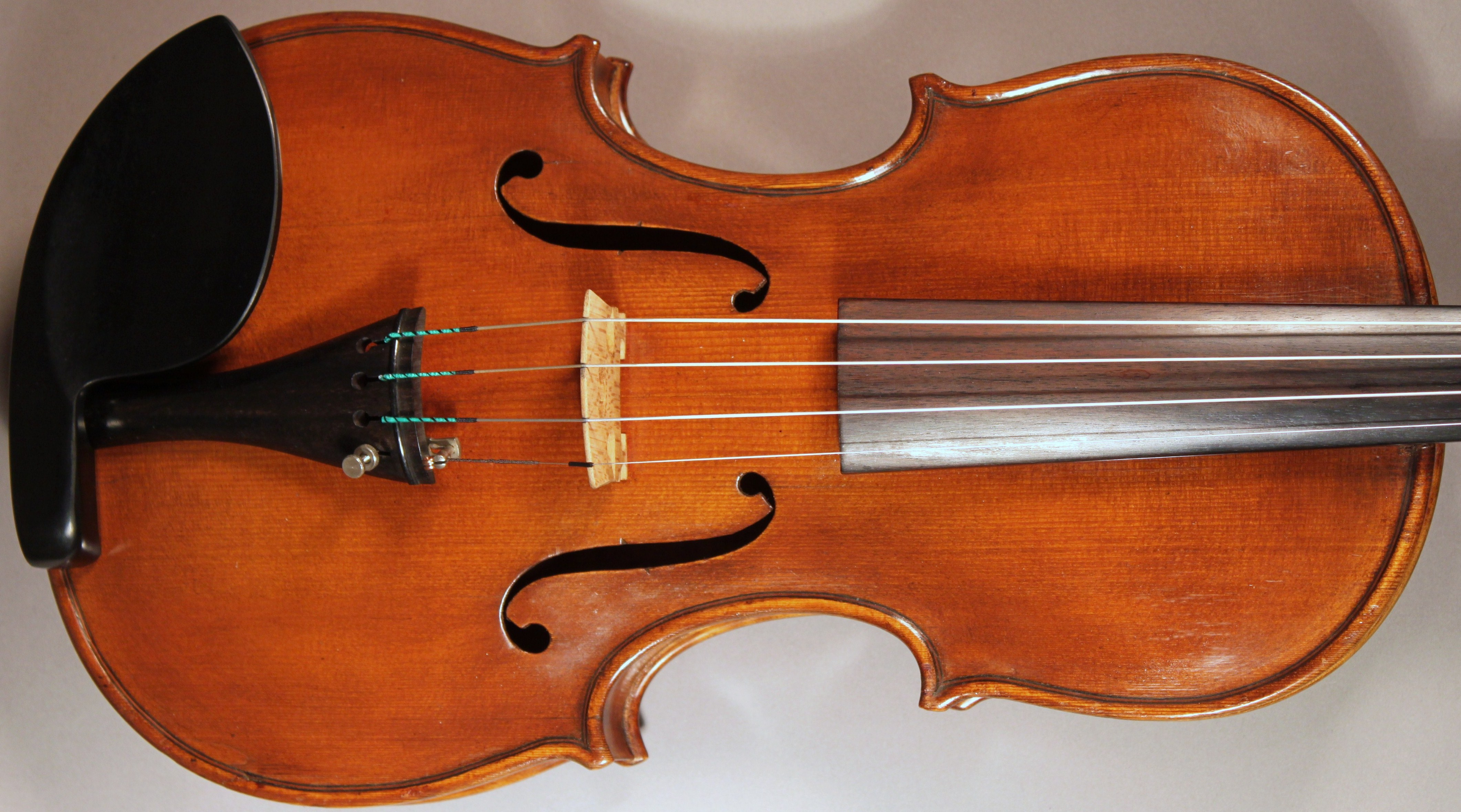 Italian violin by Egidia Bizzi, original antique Italian violin, oustanding quality Italian violin