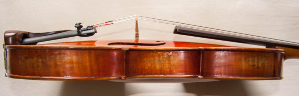 Excellent sounding German violin ca.1900 labelled Saxony