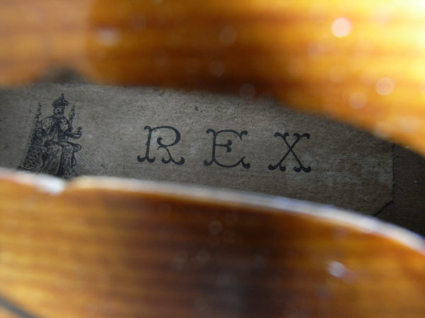 Old Antique REX violin, possibly JTL