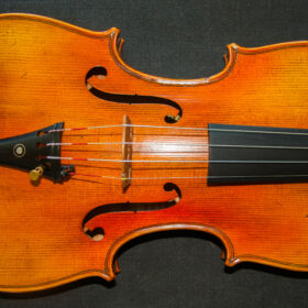The Kruse Stradivarius 1721 replica model violin, best available violins under £1000, Virtuosi violins own label.