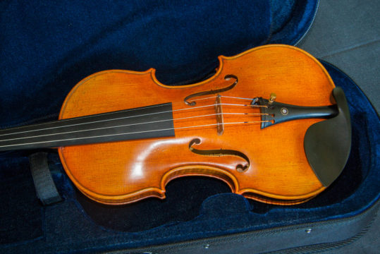 'Il Canonne' Canon Guarneri del Gesu 1743 model violin, best available violins under £1000, Virtuosi violins own label.