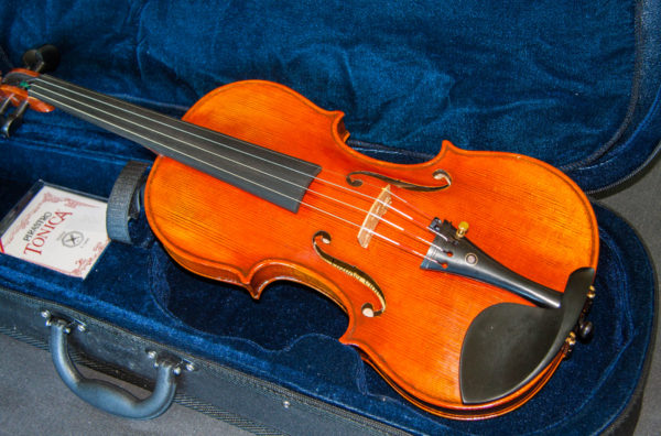 'Lord Wilton' Guarneri del Gesu 1742 replica model violin, best available violins under £1000, Virtuosi violins own label.